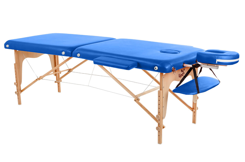 Masážny stôl Lipt® D-05 Modrá