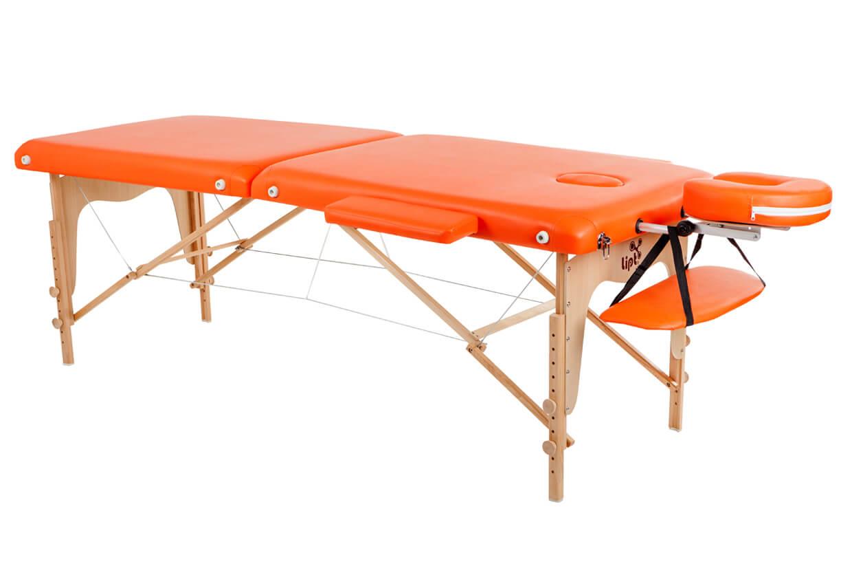 Masážny stôl Lipt® D-05 Oranžová