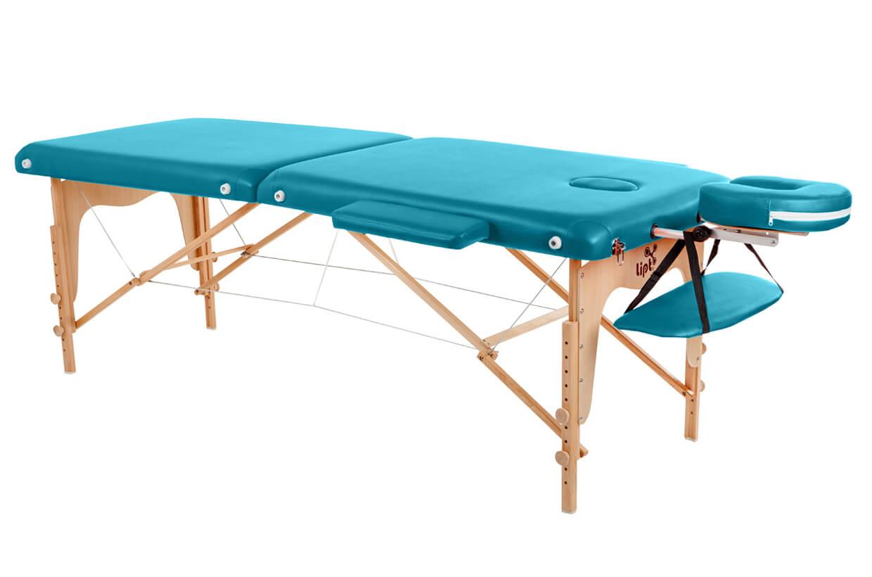 Masážny stôl Lipt® D-05 Tyrkysová