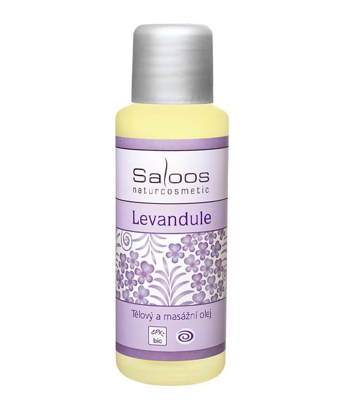 Telový a pleťový masážny olej Levanduľa 500ml