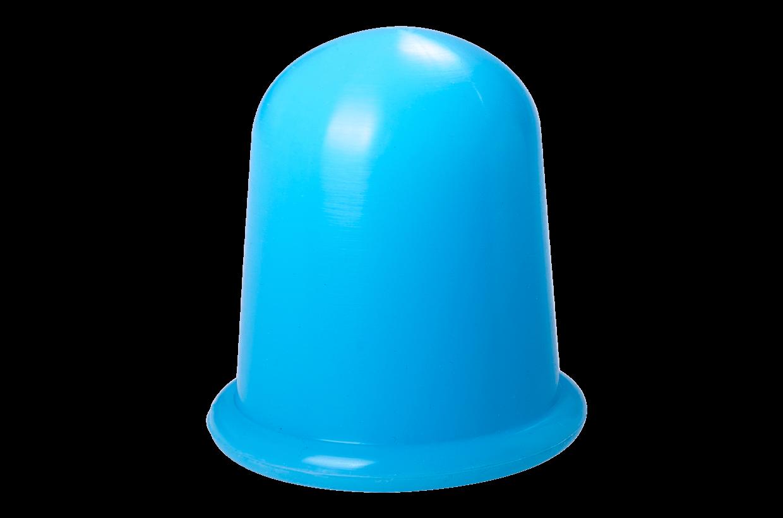 Silikónová banka L Modrá