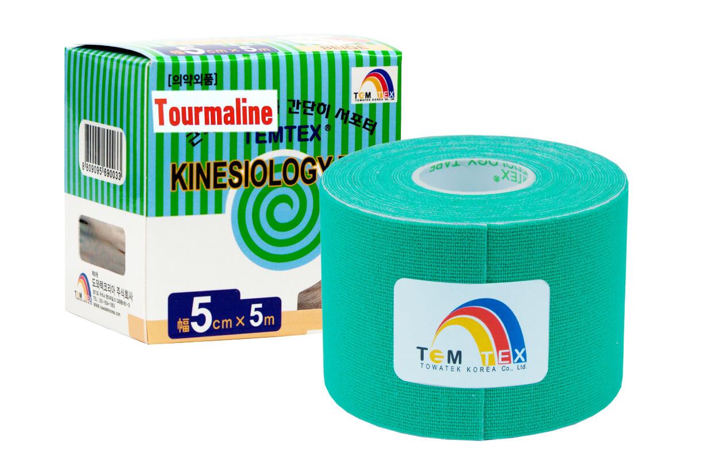 TEMTEX tape Tourmaline 5 cm x 5 m Zelená