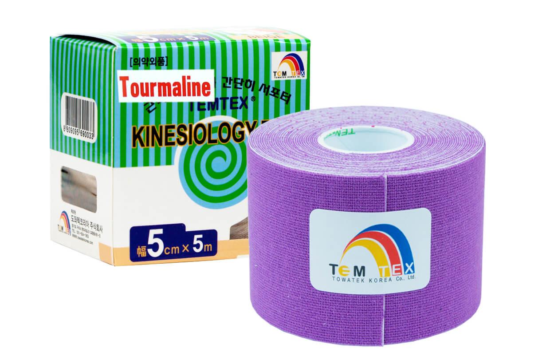 TEMTEX tape Tourmaline 5 cm x 5 m Fialová