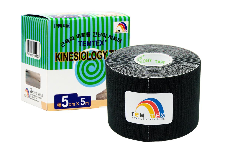 TEMTEX tape Classic 5 cm x 5 m Čierna