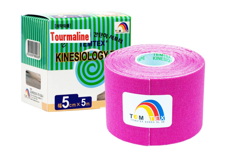TEMTEX tape Tourmaline 5 cm x 5 m Ružová