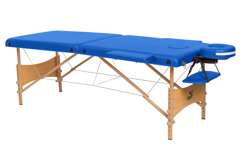 Masážny stôl Lipt® DS-01 Modrá