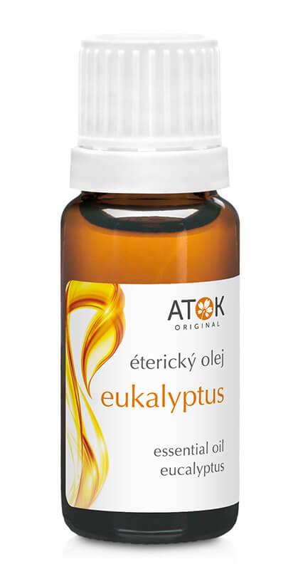 Éterický olej eukalyptus