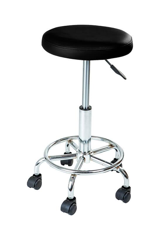 Stolička K-01 Čierna