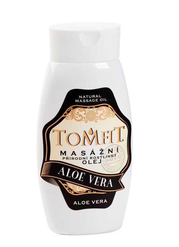 Masážny rastlinný olej Aloe vera 250 ml