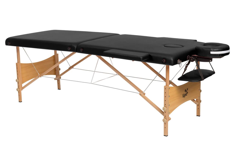 Masážny stôl Lipt® DS-01 Čierna