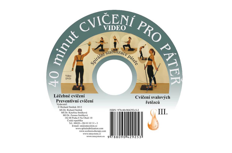 DVD 40 cvikov