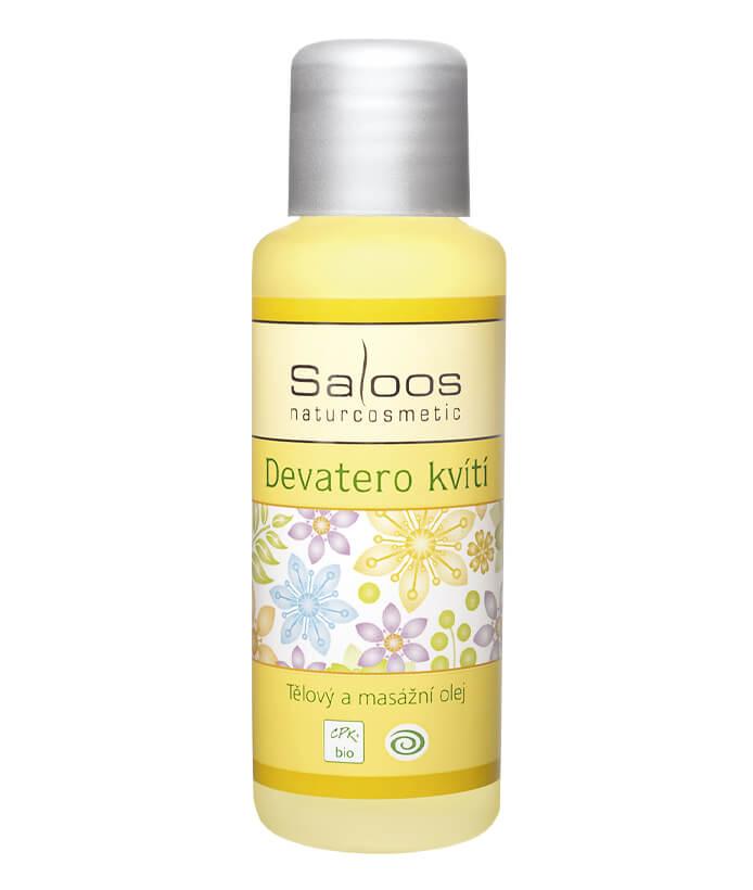 Telový masážny olej Deväť kvetov 1000ml