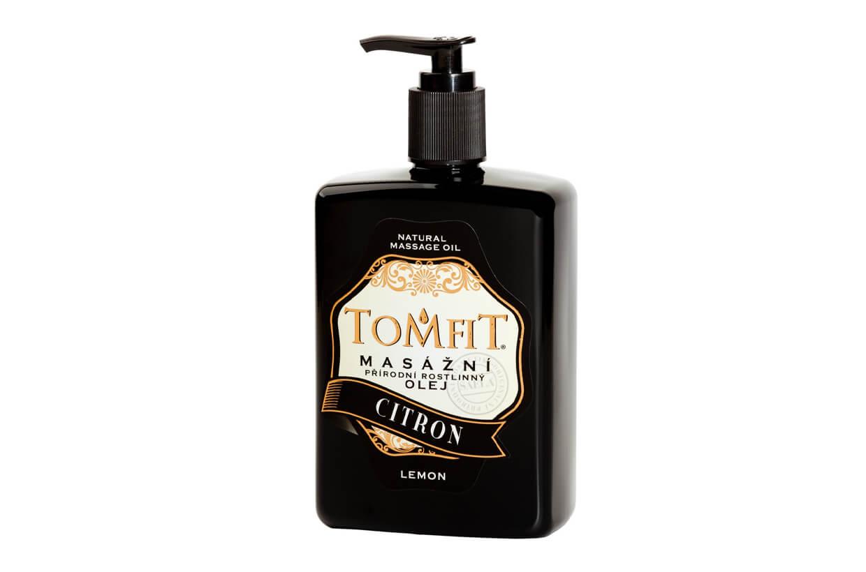 Masážny rastlinný olej Citrónový 500 ml