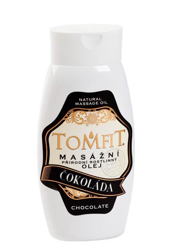 Masážny rastlinný olej Čokoládový 250 ml