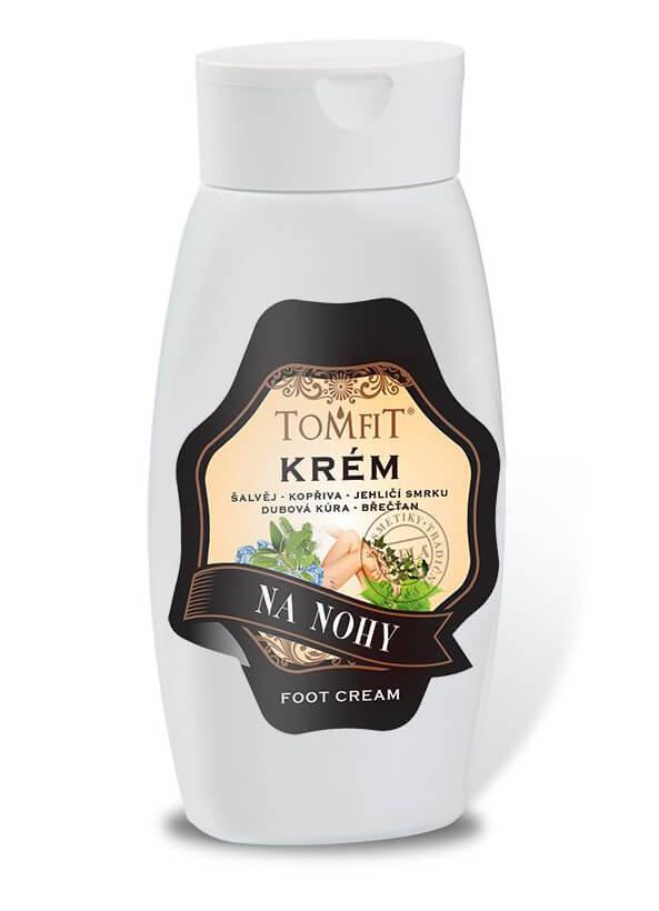 TOMFIT - krém na nohy 250 ml