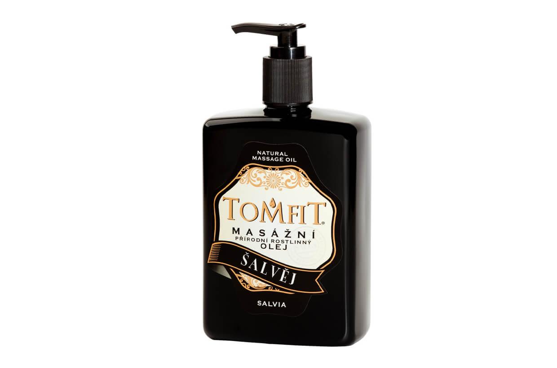 Masážny rastlinný olej Šalviový 500 ml