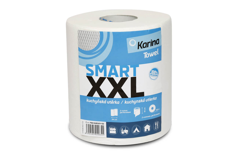 Papierová utierka SMART XXL 2vrstvy 100m