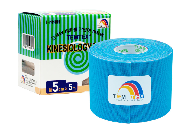 TEMTEX tape Classic 5 cm x 5 m Modrá