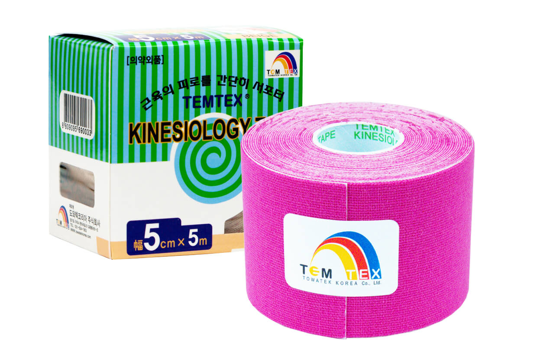 TEMTEX tape Classic 5 cm x 5 m Ružová