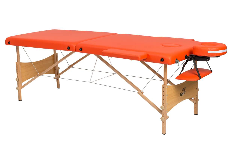 Masážny stôl Lipt® DS-01 Oranžová