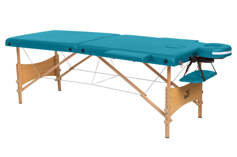 Masážny stôl Lipt® DS-01 Tyrkysová