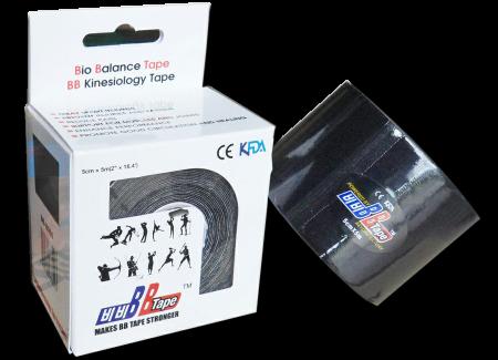 BB tape ICE - umelý hodváb 5cm x 5m čierna