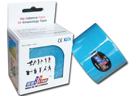 BB tape ICE - umelý hodváb 5cm x 5m modrá