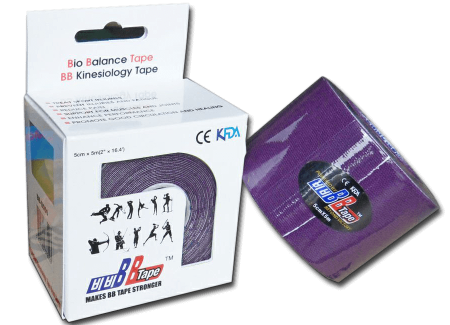 BB tape ICE - umelý hodváb 5cm x 5m fialová