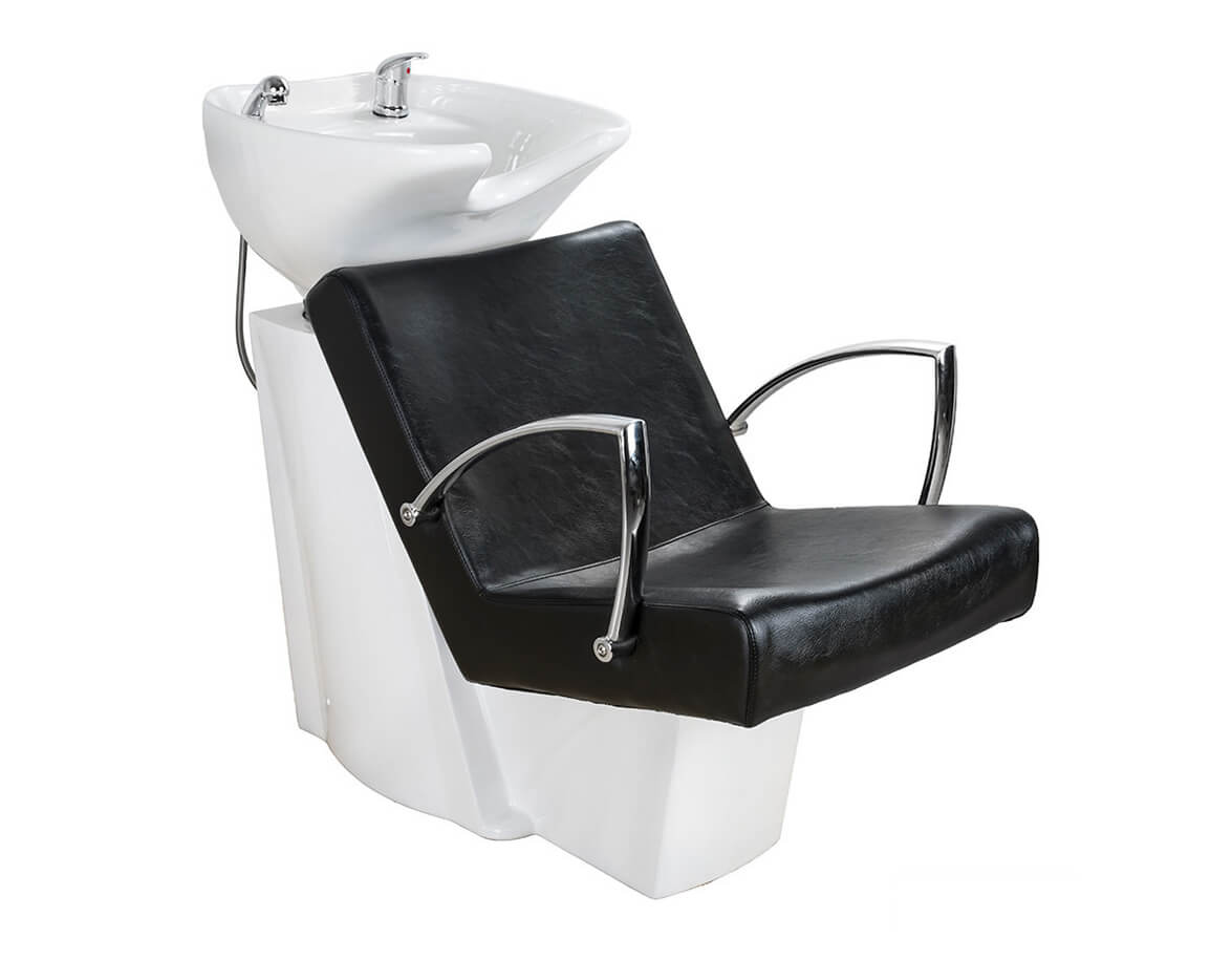 Kadernícky umývací box SOUL čierna a biela