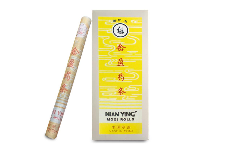 Moxovacia tyčinka dlhá bylinná Nian Ying 10 ks