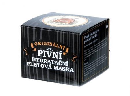 Pivná hydratačná pleťová maska 100 ml