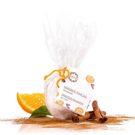 Pomarančovo-škoricová bomba do kúpeľa 95g