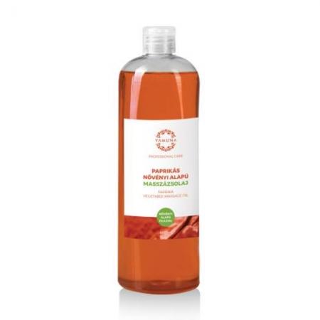 Paprikový rastlinný masážny olej 1000ml