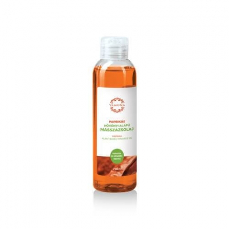 Paprikový rastlinný masážny olej 250ml