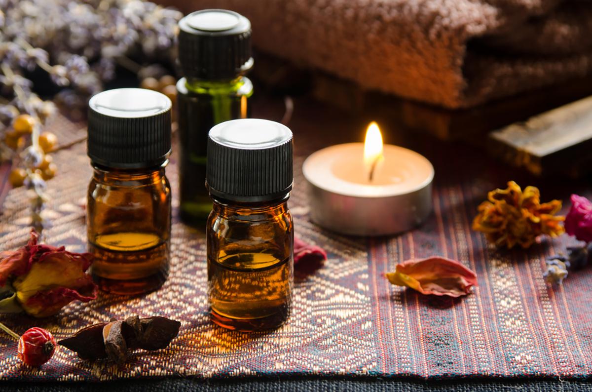 Príjemná vôňa je súčasťou masérskeho salóna