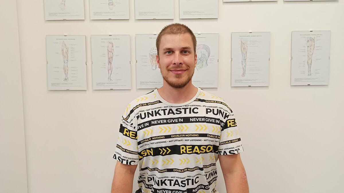 Fyzioterapeut Daniel Danek