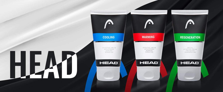 Funkčné športové krémy HEAD