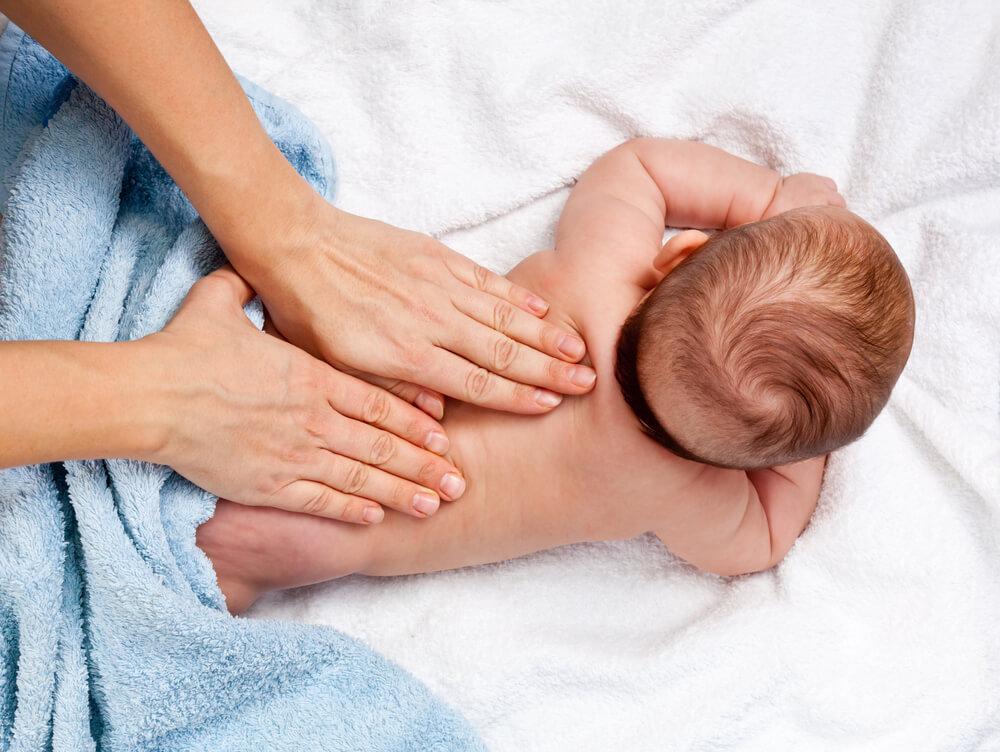 Dieťa vníma dotyky veľmi intenzívne
