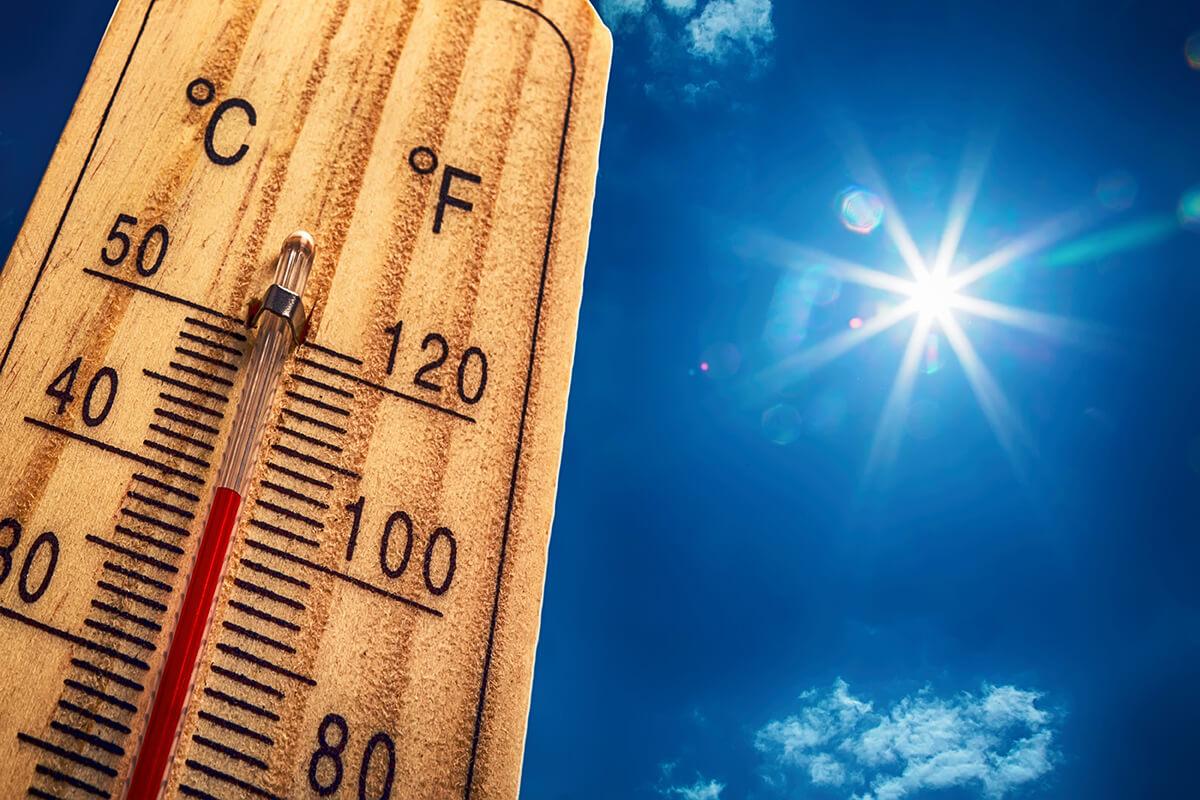 Rekordne vysoké teploty - ísť na masáž?