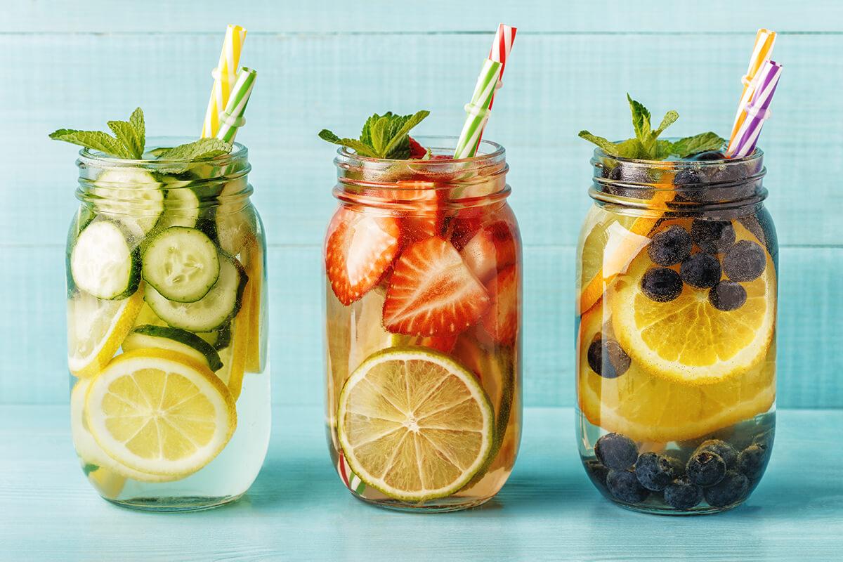 Zdravé osviežujúce nápoje pomôžu dodržať pitný režim