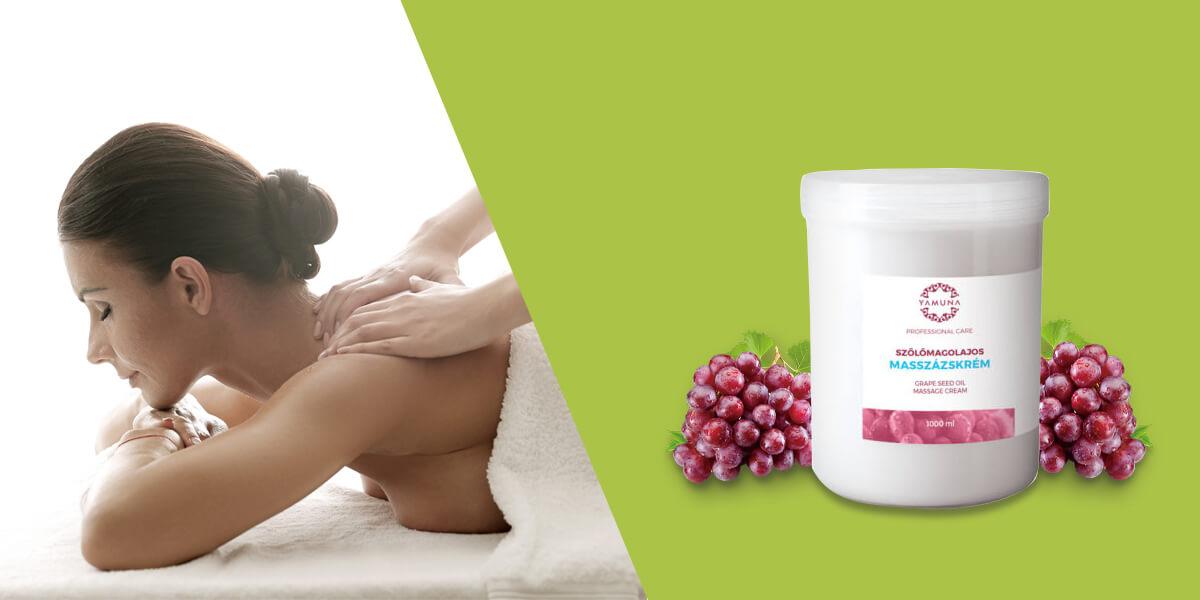 Masážny krém je vhodný na masáž aj pre kozmetiku
